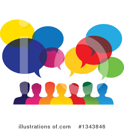 Speech Balloon Clipart #1343846 by ColorMagic