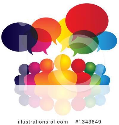 Talking Clipart #1343849 by ColorMagic