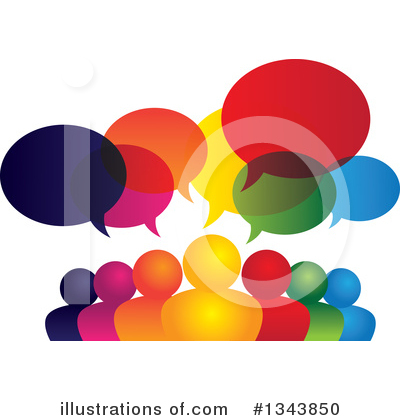 Talking Clipart #1343850 by ColorMagic