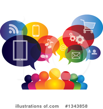 Smart Phone Clipart #1343858 by ColorMagic