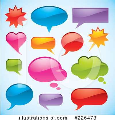 Word Bubble Clipart #226473 by TA Images