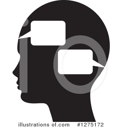 Head Clipart #1275172 by Lal Perera