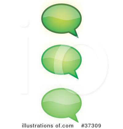 Royalty-Free (RF) Speech Bubble Clipart Illustration by YUHAIZAN YUNUS ...
