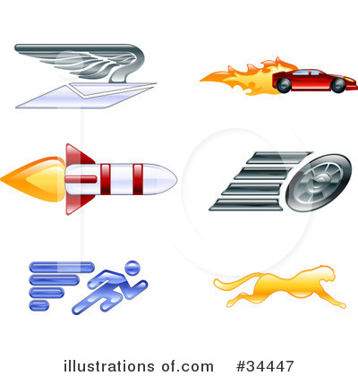 Icons Clipart #34447 by AtStockIllustration