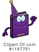 Spell Book Clipart #1187751 by Cory Thoman