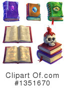 Spell Book Clipart #1351670 by Tonis Pan