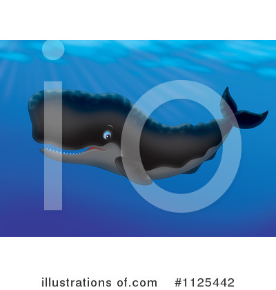 Whale Clipart #1125442 by Alex Bannykh