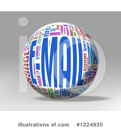 Email Clipart #1224935 by MacX