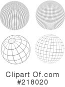 Royalty-Free (RF) Spheres Clipart Illustration #218020