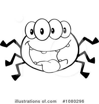 Spider Clipart #1080296 by Hit Toon