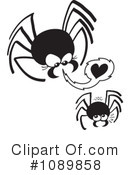 Spider Clipart #1089858 by Zooco