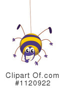 Royalty-Free (RF) Spider Clipart Illustration #1120922