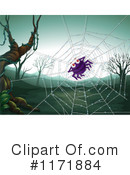 Royalty-Free (RF) Spider Clipart Illustration #1171884