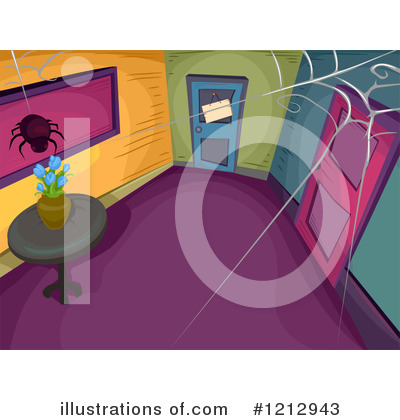 Royalty-Free (RF) Spider Clipart Illustration by BNP Design Studio - Stock Sample #1212943