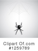 Spider Clipart #1259789 by KJ Pargeter