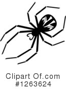 Royalty-Free (RF) Spider Clipart Illustration #1263624