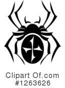 Royalty-Free (RF) Spider Clipart Illustration #1263626