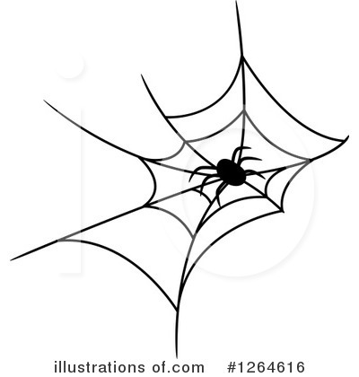 Spider Clipart #1264616 by Vector Tradition SM