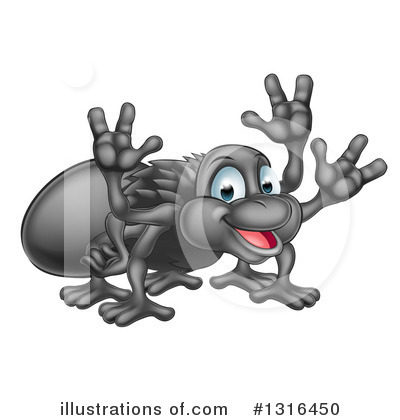 Royalty-Free (RF) Spider Clipart Illustration by AtStockIllustration - Stock Sample #1316450