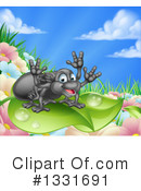 Royalty-Free (RF) Spider Clipart Illustration #1331691
