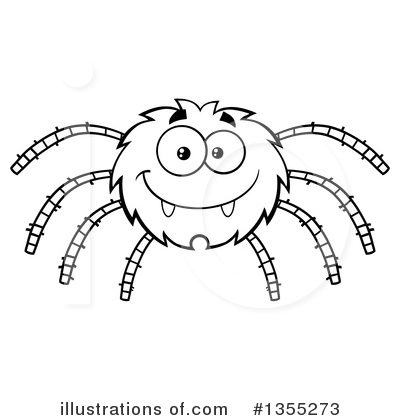 Spider Clipart #1355273 by Hit Toon