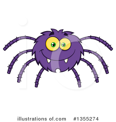 Spider Clipart #1355274 by Hit Toon