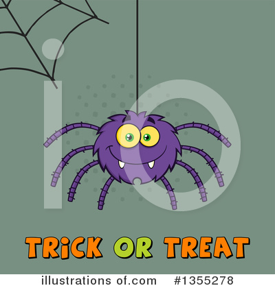 Spider Clipart #1355278 by Hit Toon