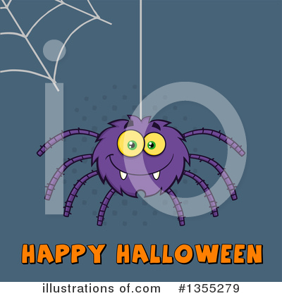 Spider Clipart #1355279 by Hit Toon