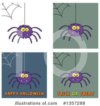 Spider Clipart #1357288 by Hit Toon