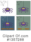 Royalty-Free (RF) Spider Clipart Illustration #1357288