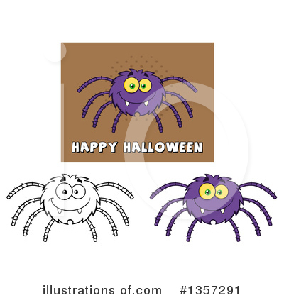 Spider Clipart #1357291 by Hit Toon