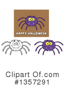 Royalty-Free (RF) Spider Clipart Illustration #1357291