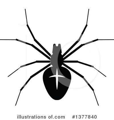 Spider Clipart #1377840 by Vector Tradition SM