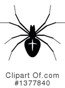 Royalty-Free (RF) Spider Clipart Illustration #1377840