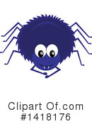 Royalty-Free (RF) Spider Clipart Illustration #1418176