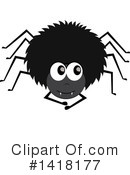 Royalty-Free (RF) Spider Clipart Illustration #1418177