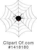 Royalty-Free (RF) Spider Clipart Illustration #1418180