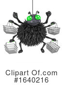 Spider Clipart #1640216 by Steve Young