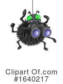 Spider Clipart #1640217 by Steve Young