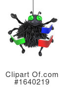 Spider Clipart #1640219 by Steve Young