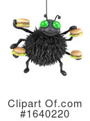 Spider Clipart #1640220 by Steve Young