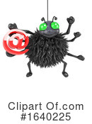 Spider Clipart #1640225 by Steve Young