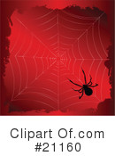 Royalty-Free (RF) Spider Clipart Illustration #21160