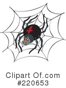 Spider Clipart #220653 by visekart