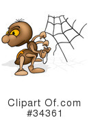 Spider Clipart #34361 by dero
