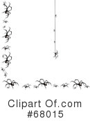 Royalty-Free (RF) Spider Clipart Illustration #68015