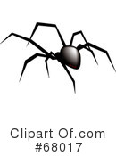 Royalty-Free (RF) Spider Clipart Illustration #68017