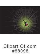 Royalty-Free (RF) Spider Clipart Illustration #68098