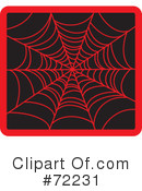 Spider Web Clipart #72231 by Rosie Piter