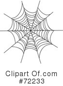 Spider Web Clipart #72233 by Rosie Piter